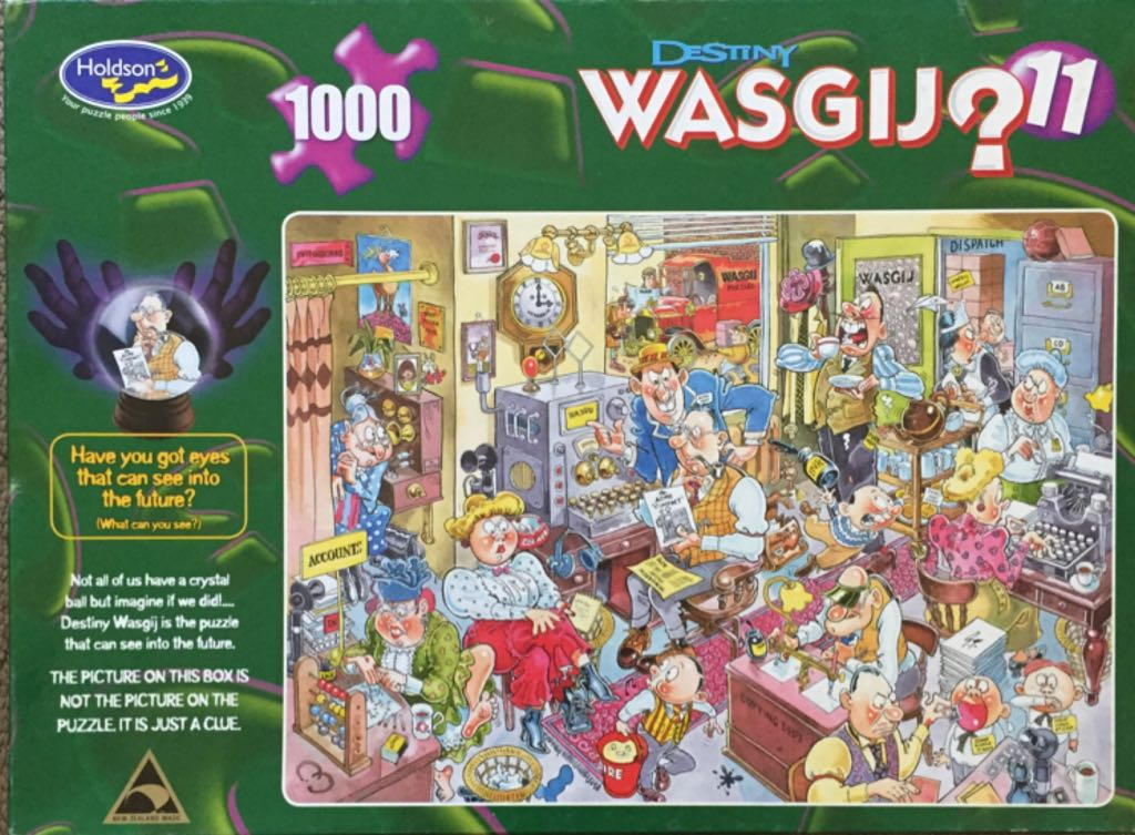 Destiny Wasgij 11 Puzzle - Holdson front image (front cover)