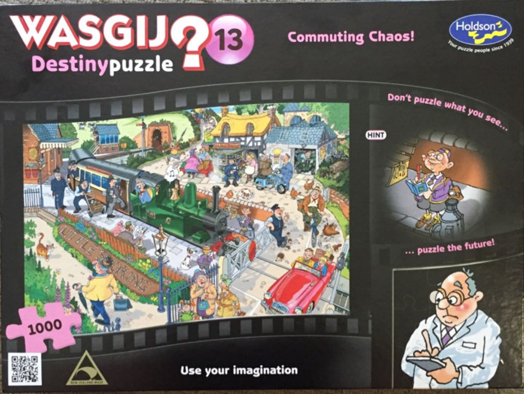 Destiny Wasgij 13 Puzzle - Holdson front image (front cover)