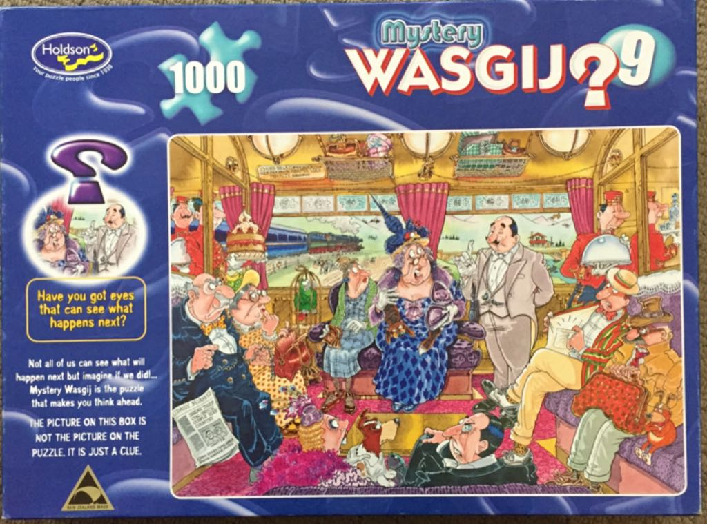 Mystery Wasgij 9 Puzzle - Holdson front image (front cover)