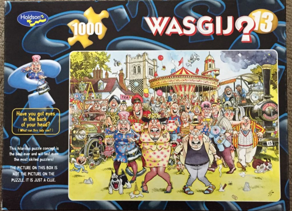 Wasgij 13 Puzzle - Holdson front image (front cover)
