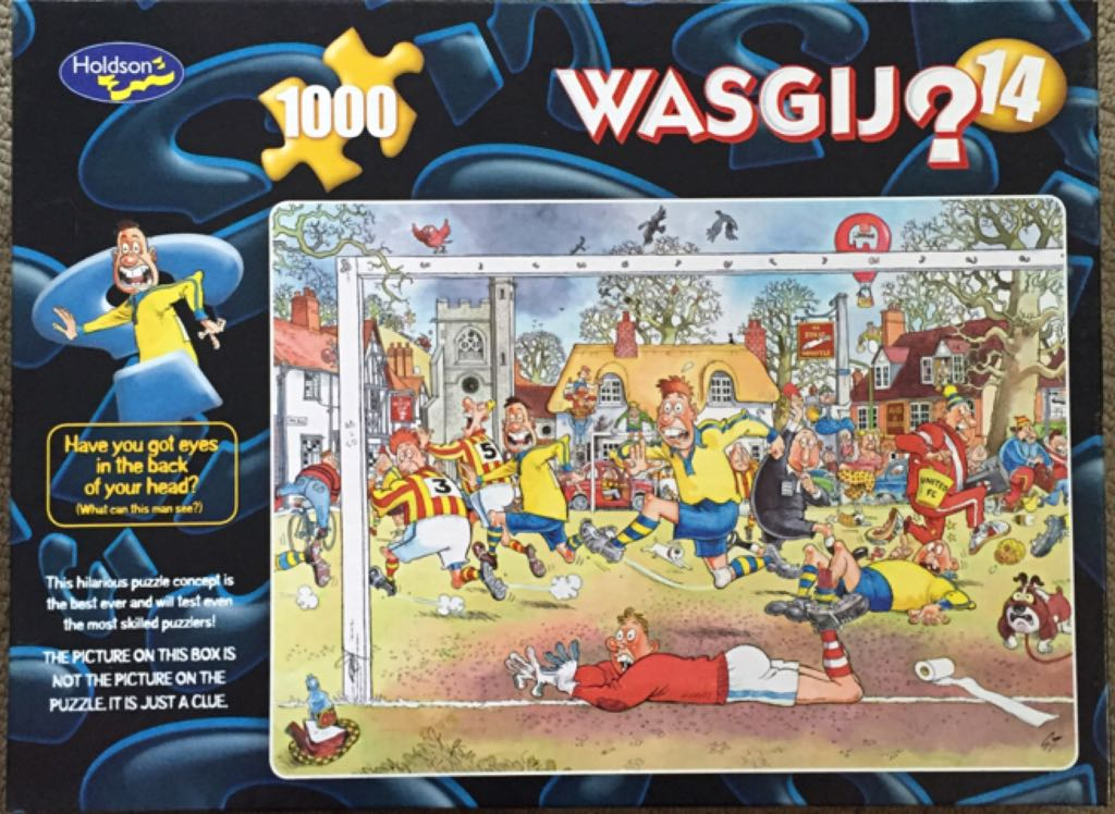 Wasgij 14 Puzzle - Jumbo (Wasgij) front image (front cover)