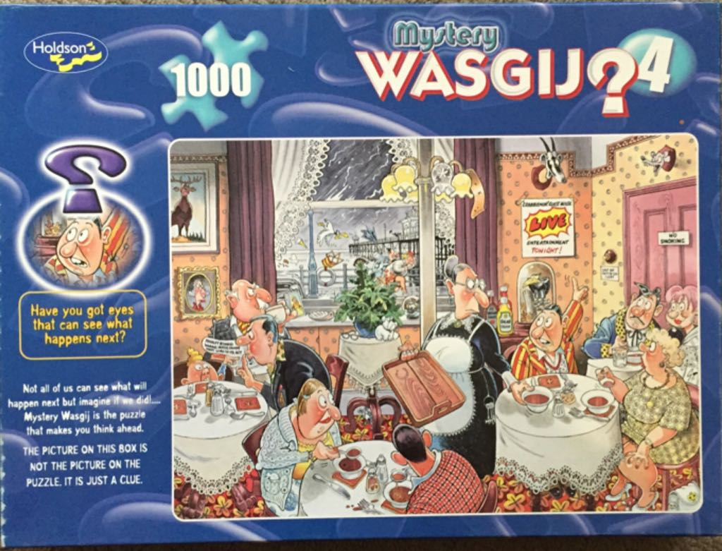 Mystery Wasgij 4 Puzzle - Holdson front image (front cover)