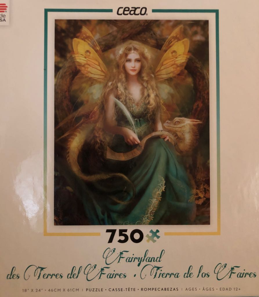 Fairyland Puzzle - Ceaco (Fantasy) front image (front cover)