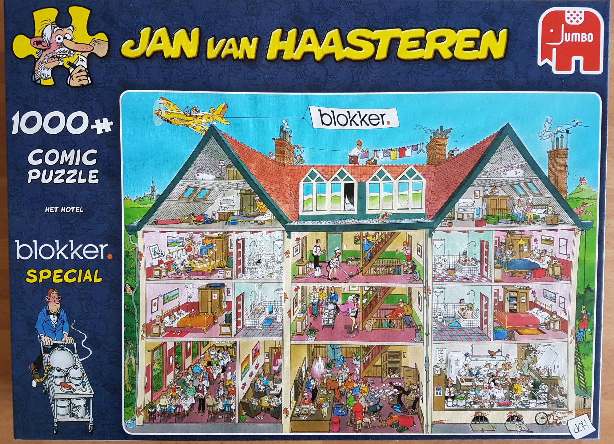 Het Hotel Blokker Special 81636 Puzzle - Jumbo (-) front image (front cover)