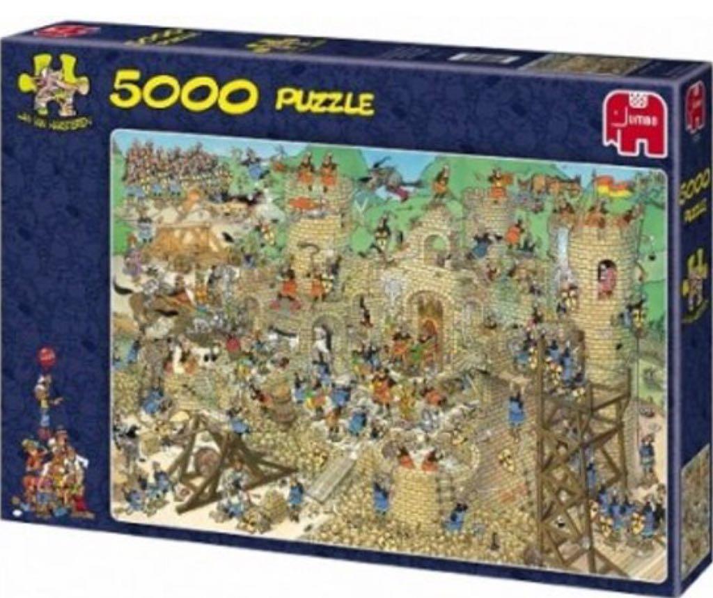 Jan Van Haasteren Middeleeuwen (5000) Puzzle - Jan Van Haasteren front image (front cover)