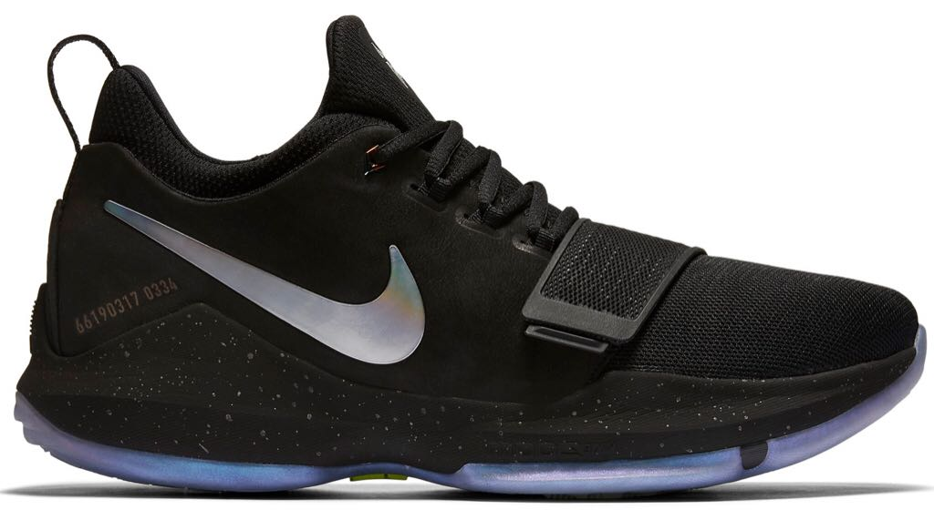 98ca3668f45 Nike PG 1 TS Prototype Shoe - Nike (BLACK MULTI-COLOR NOIR COULEUR ...