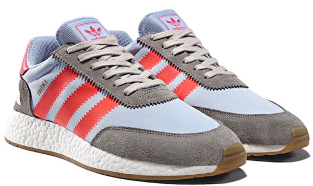 buy sale amazon pretty nice Adidas Iniki Runner Shoe - Adidas (SOLID GREY/TURBO/GUM ...
