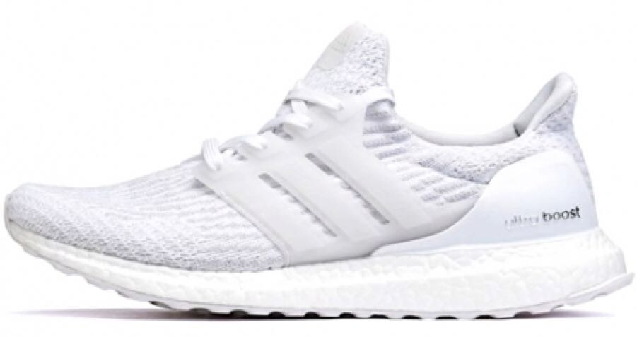 "hot sale online 6ba0a 425e0 Adidas Ultra Boost 3.0 ""Triple White"" Shoe - Adidas ..."