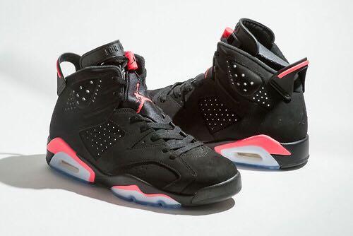new concept d017d e1121 italy air jordan 6 retro shoe nike jordan black infrared 23 black d9207  094dc