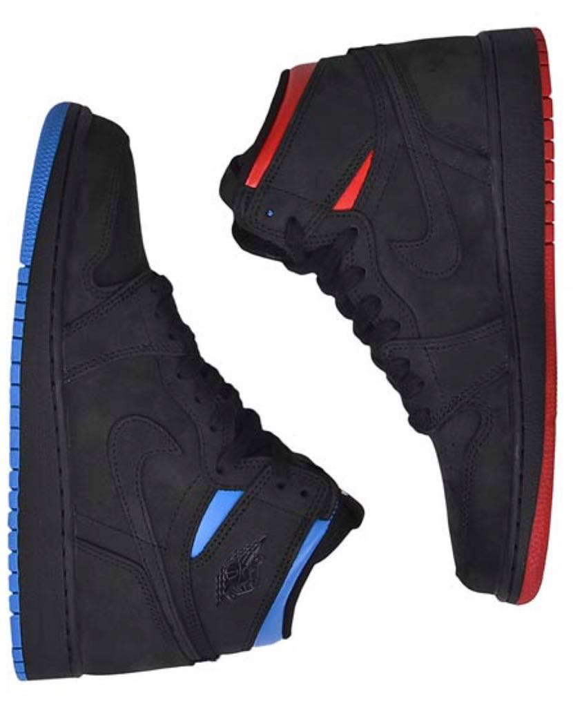 bec9dac4aa49 Air Jordan 1 Retro High Og Q54 Shoe - Jordan Brand (BLACK ITALY BLUE ...