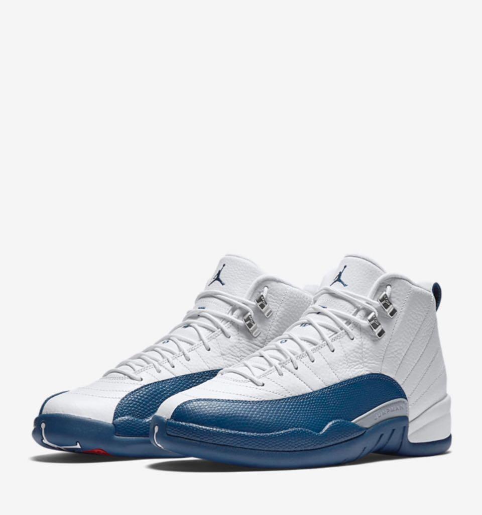 139a5628335 Air Jordan 12 Retro French Blue Sz 14.0 Shoe - Nike (White   French ...