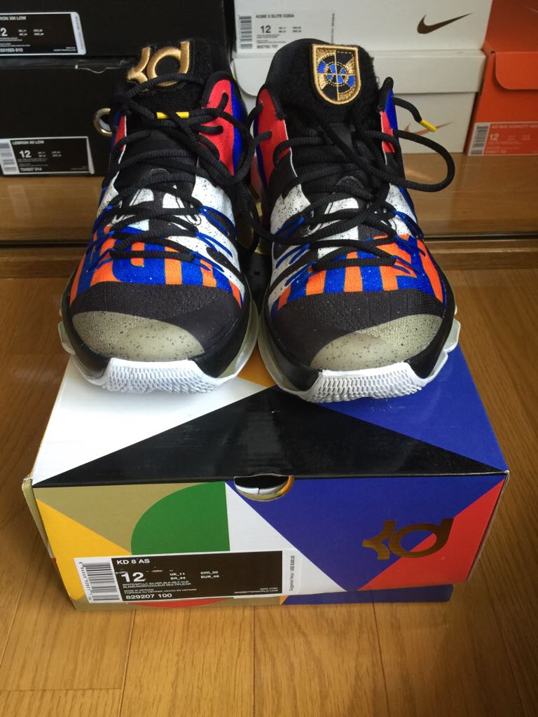 quality design 88bce dbd2f KD 8 ASG Shoe - Nike (Multi Color Black White) front image
