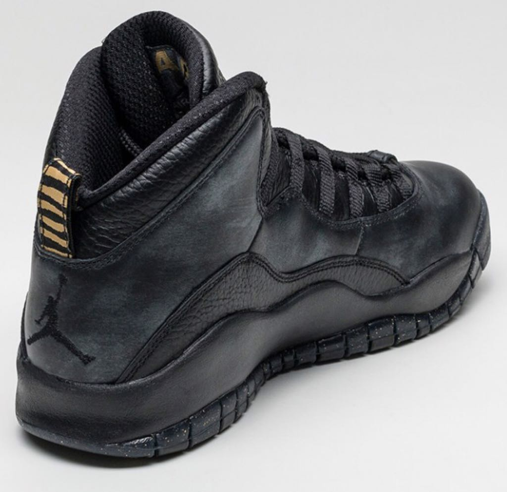 "41658c31e2057e Air Jordan 10 Retro ""NYC"" Shoe - Jordan (Black Black-Dark Grey ..."