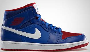 Air Jordan 1 Retro Shoe - Air Jordan (Game Royal/Gm Royal-Gym Rd-Wht) front image (front cover)