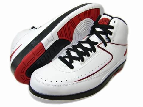 Air Jordan 2 Retro QF Shoe - Jordan (White/Black-Varsity Red)