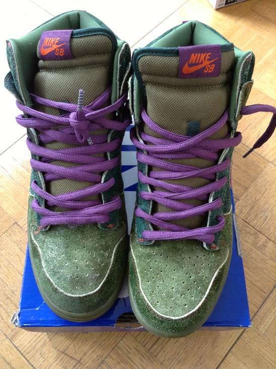pretty nice 76456 79583 Skunk VNDS Nike Dunk High Premium SB Shoe - Nike SB (Black Forest  Vntg