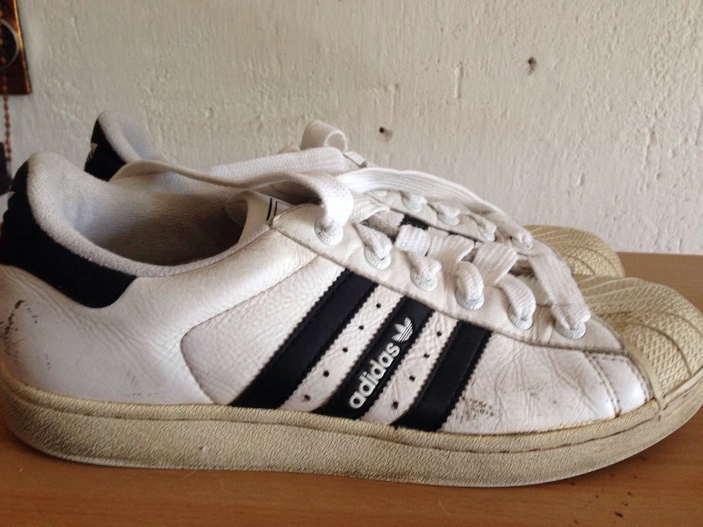 brand new 126d9 ec7d4 Adidas Superstar 2.0 Shoe - Adidas (White black) front image (front cover