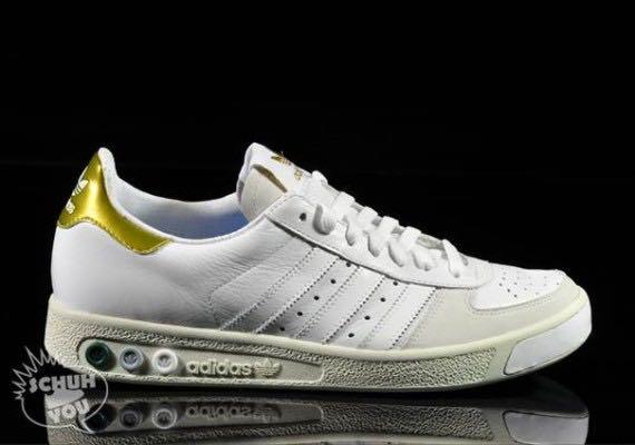 Grand Slam Spezial Shoe - Adidas (White
