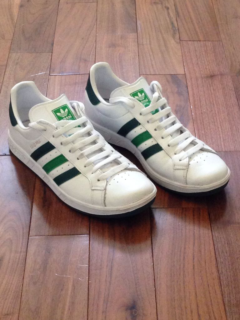 grand prix shoe adidas originals white green from. Black Bedroom Furniture Sets. Home Design Ideas