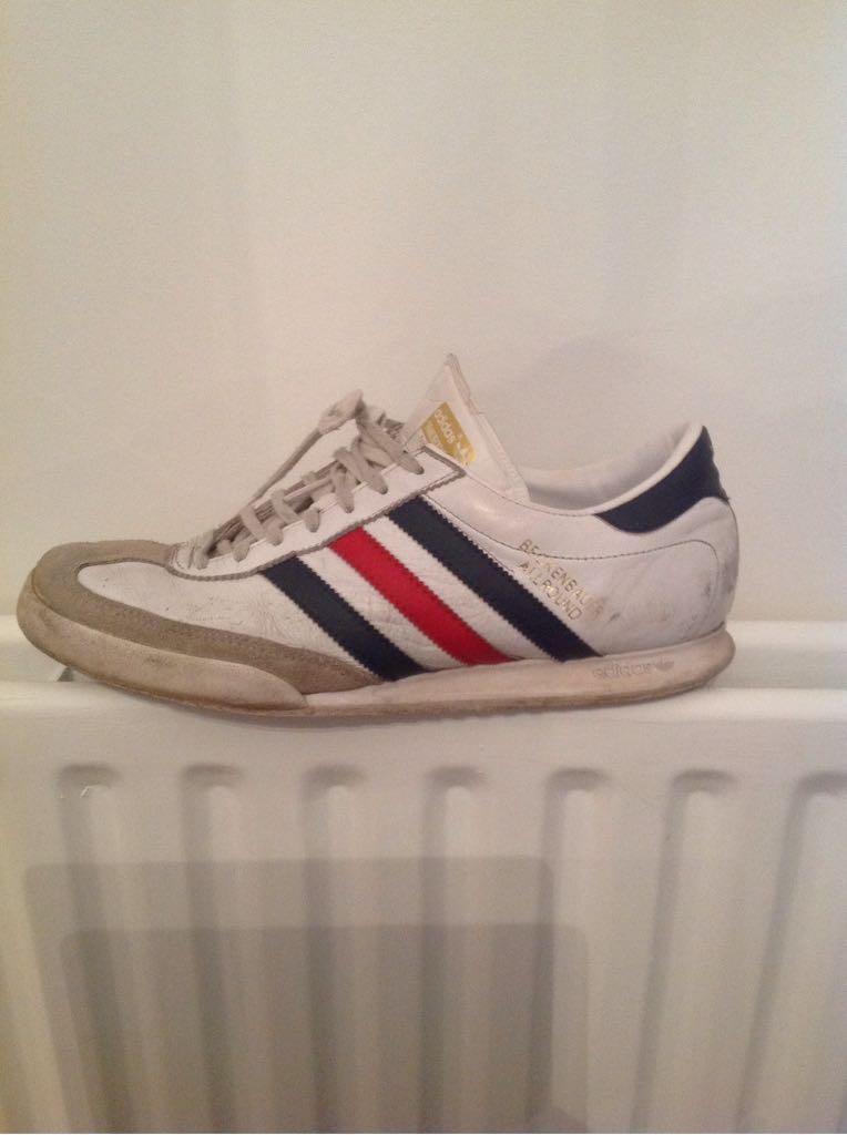 Adidas Beckenbauer All Round Shoe Adidas (Whitenavy Blue