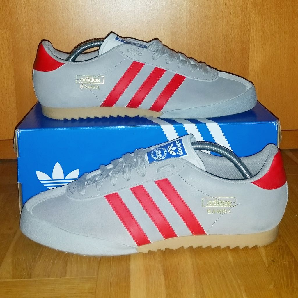 Bamba Shoe Adidas (Grey White) from Sort It Apps