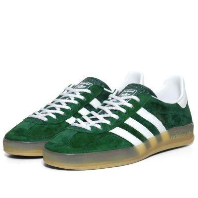 adidas indoor gazelle green
