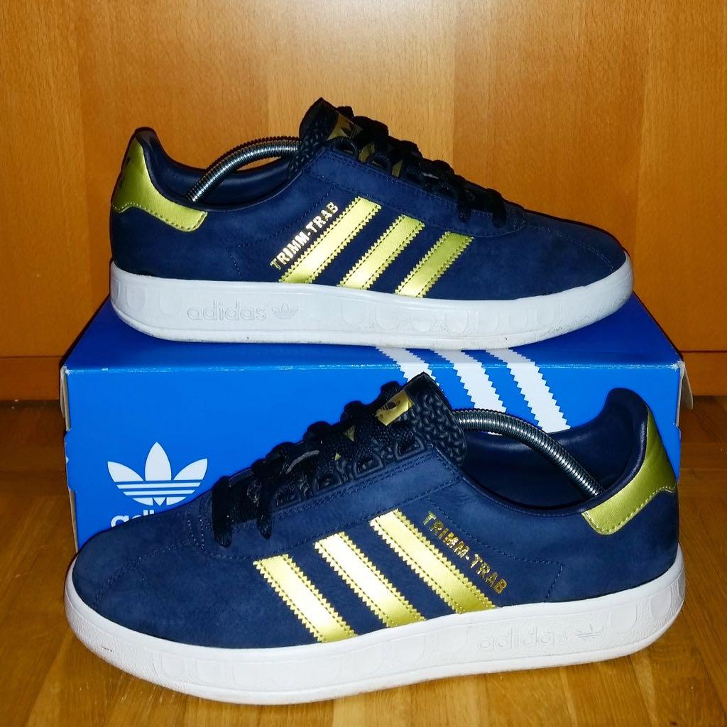 Adidas Trimm Trab Shoe - Adidas (Blue