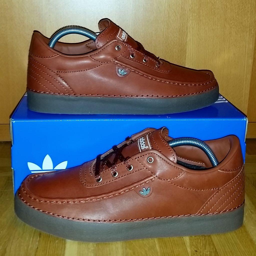 buy popular 8bebf fd03e Adidas Albrecht Spezial Shoe - Adidas (Brown) front image (front cover)