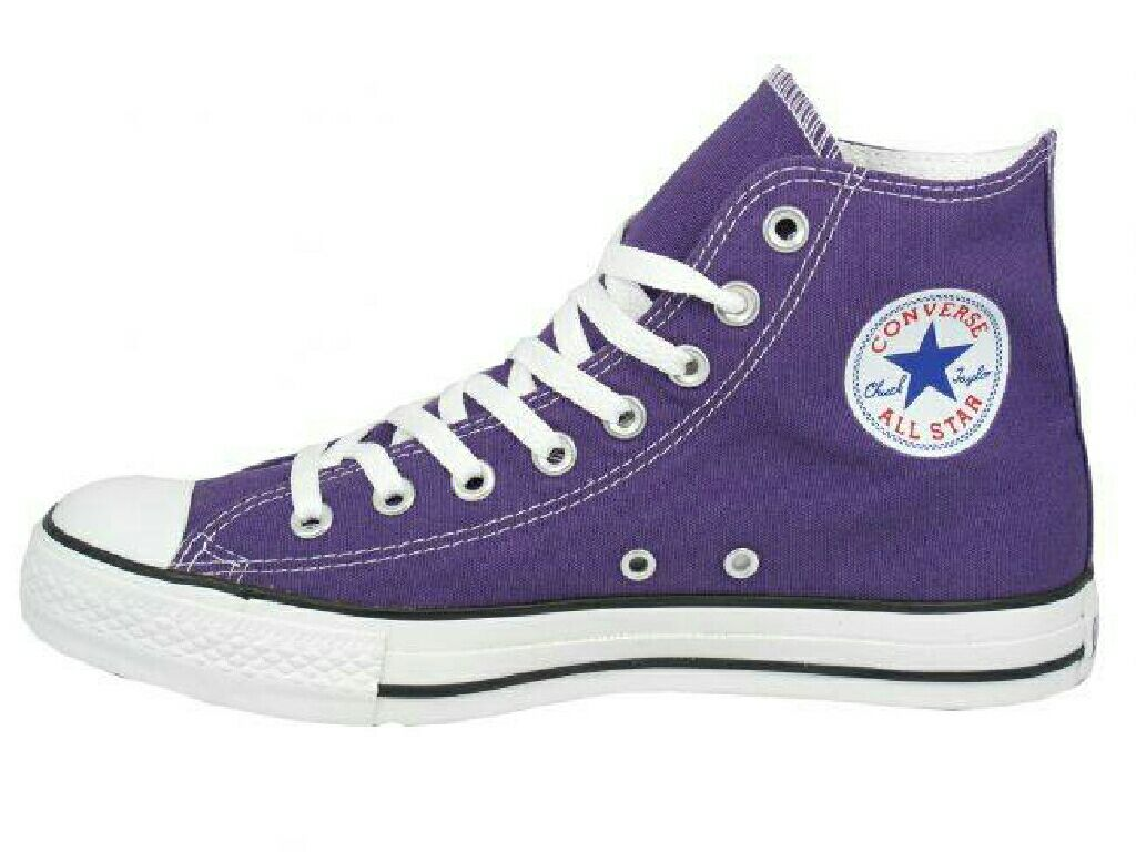 Electric Blue Converse Shoes