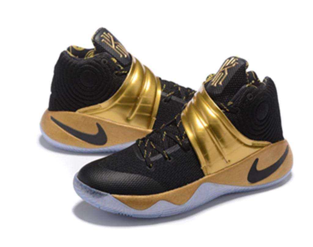 best service 9bc86 224cc ... where to buy kyrie 2 pe shoe nike black gold gum back image 650b9 f84de