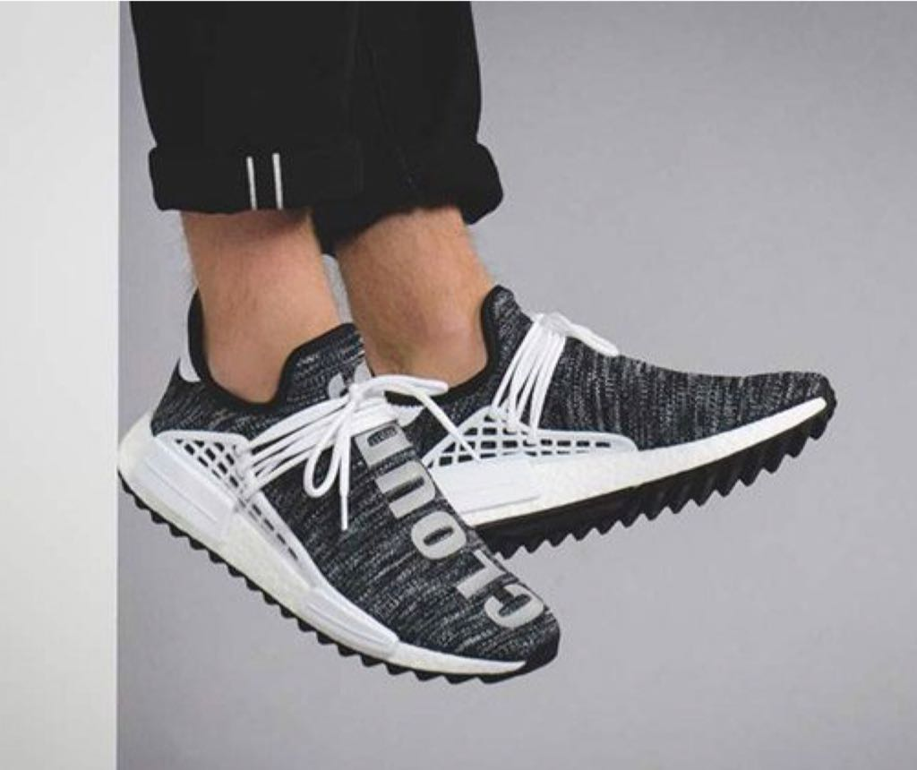 newest f28a4 1bc0d NMD Hu x Pharrell x Chanel Shoe - Adidas (Core Black/Running ...