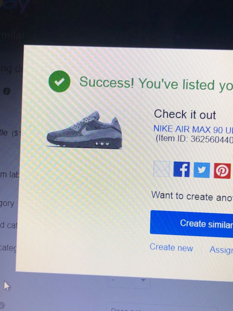 Nike Air Max 90 Ultra 2.0 Flyknit 875943-007 Shoe front image (front cover)