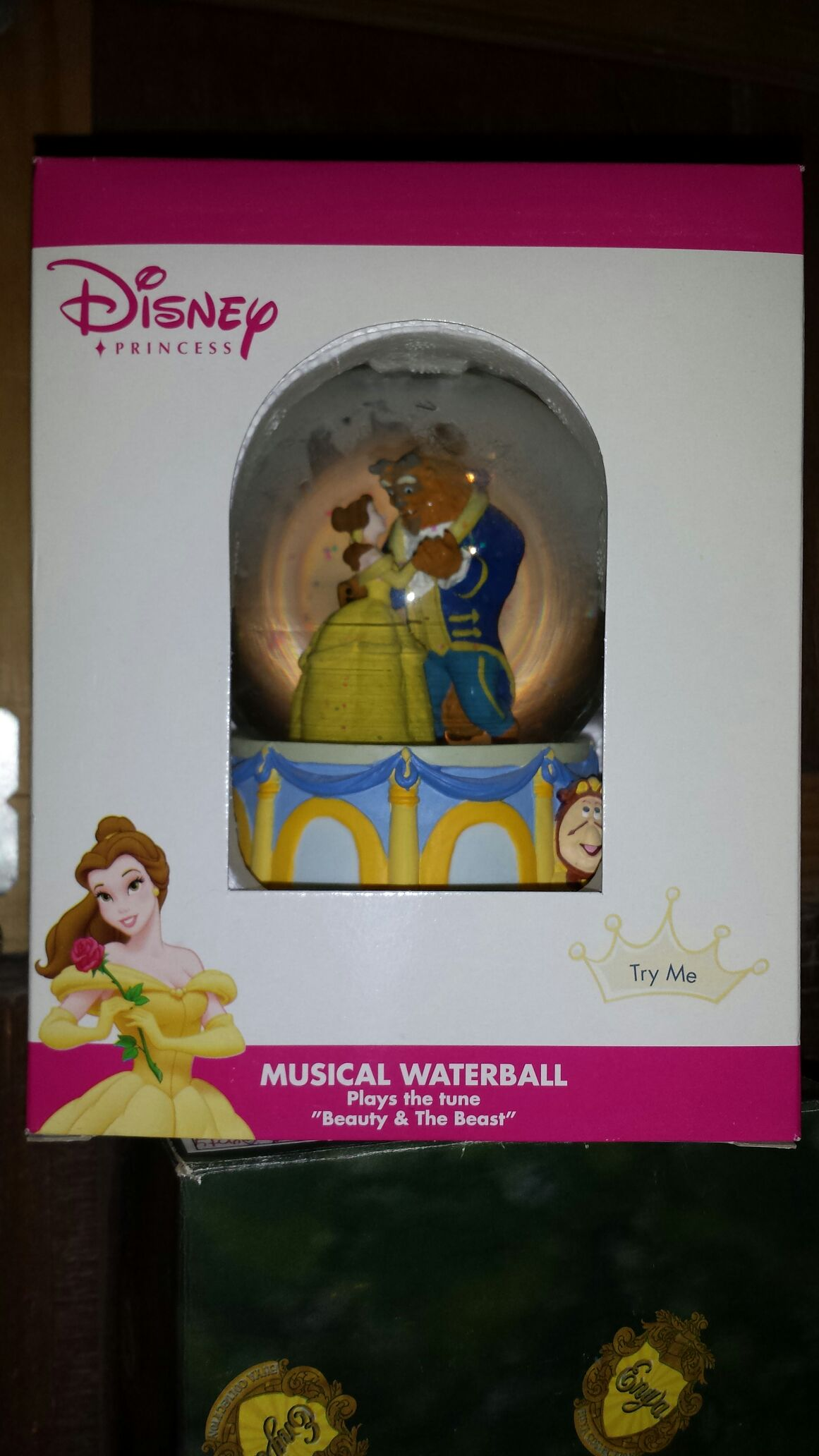 Beauty & The Beast Snowglobe (Disney Traditions / Enesco) front image (front cover)