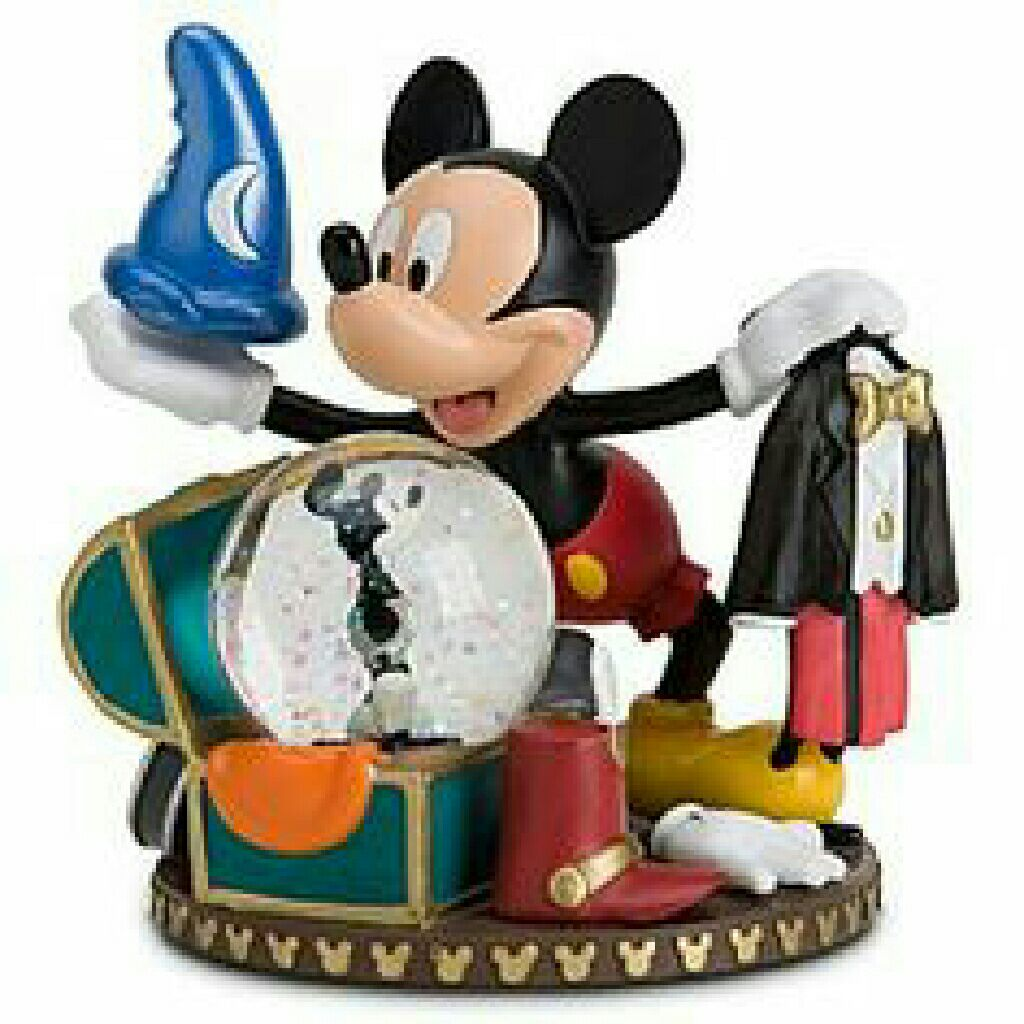 Mickey Mouse with Trunk Snowglobe front image (front cover)