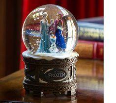 Frozen Snow Globe Snowglobe back image (back cover, second image)