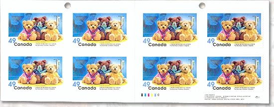 The Montreal Children's Hospital Stamp (Booklet) front image (front cover)
