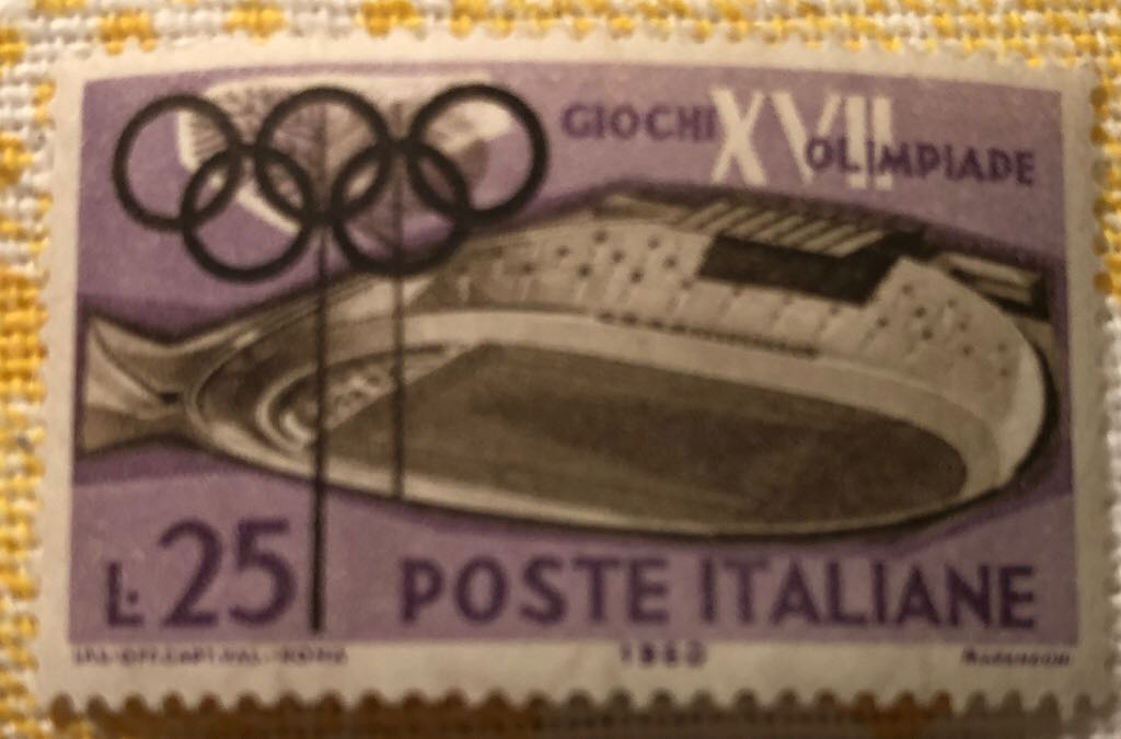 VELODROMO Stamp - Italy front image (front cover)