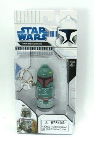 Boba Fett Stack-Ems Keychain Star Wars - BFI (2006) back image (back cover, second image)