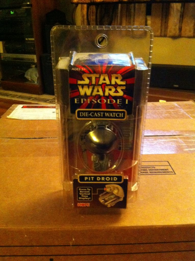 Pit Droid Die Cast Watch Star Wars front image (front cover)