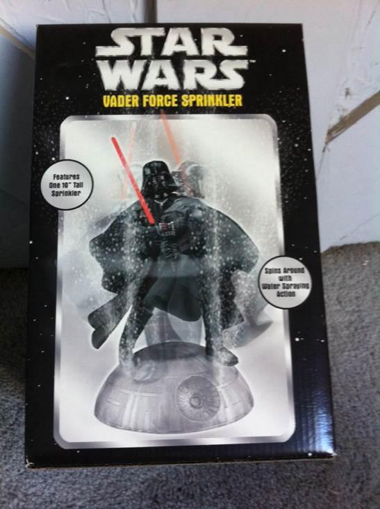 Vader Force Sprinkler Star Wars - Sport-Fun (2005) back image (back cover, second image)