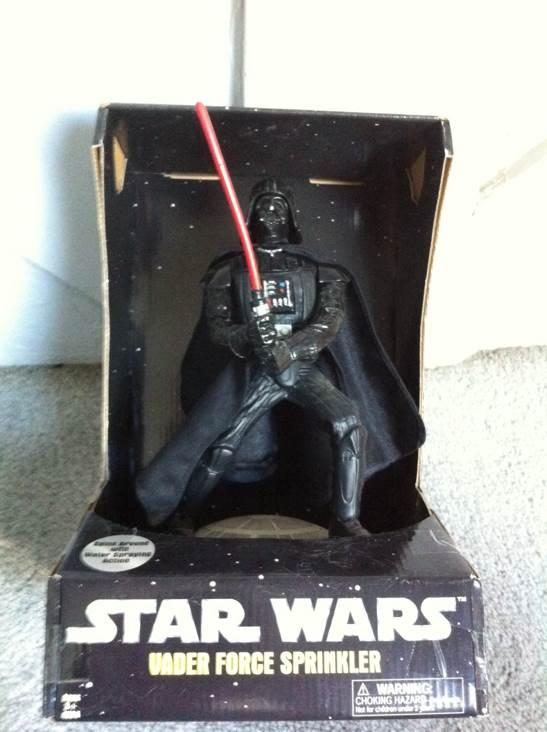 Vader Force Sprinkler Star Wars - Sport-Fun (2005) front image (front cover)