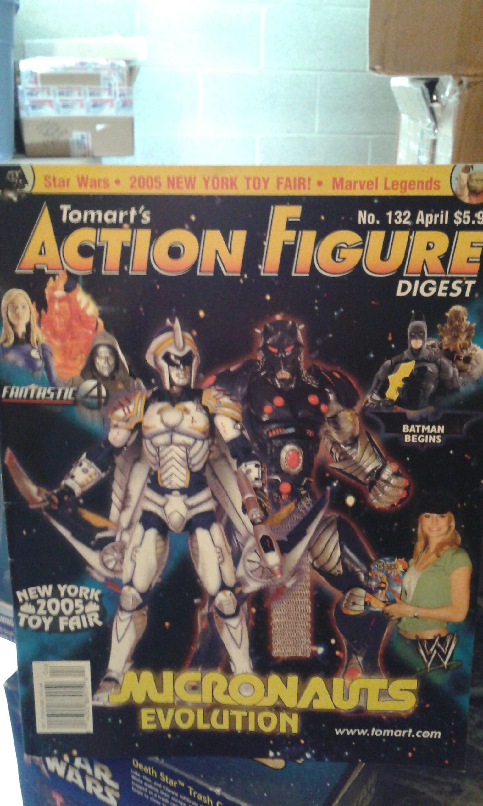 Tomart's Action Figure Digest #132 Star Wars - Tomarts Publishing (1995) front image (front cover)
