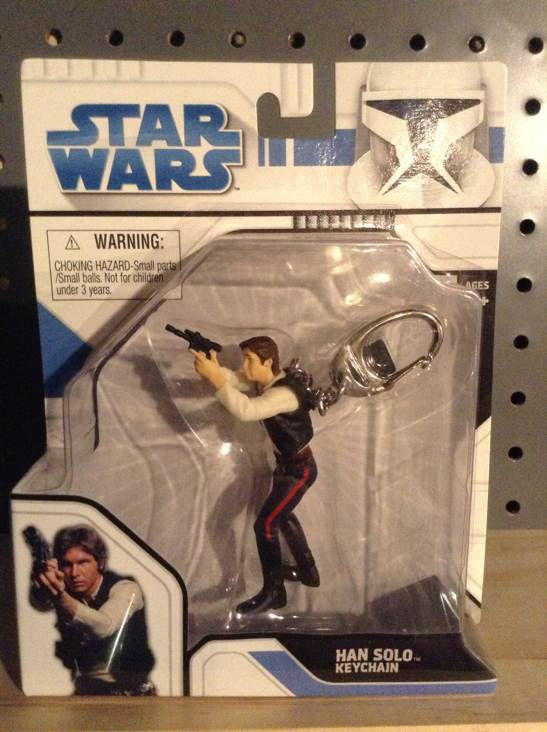 Han Solo Keychain Star Wars - Basic Fun (2009) front image (front cover)