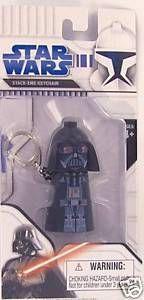 Stack-Ems Keychain Darte Vader Star Wars front image (front cover)