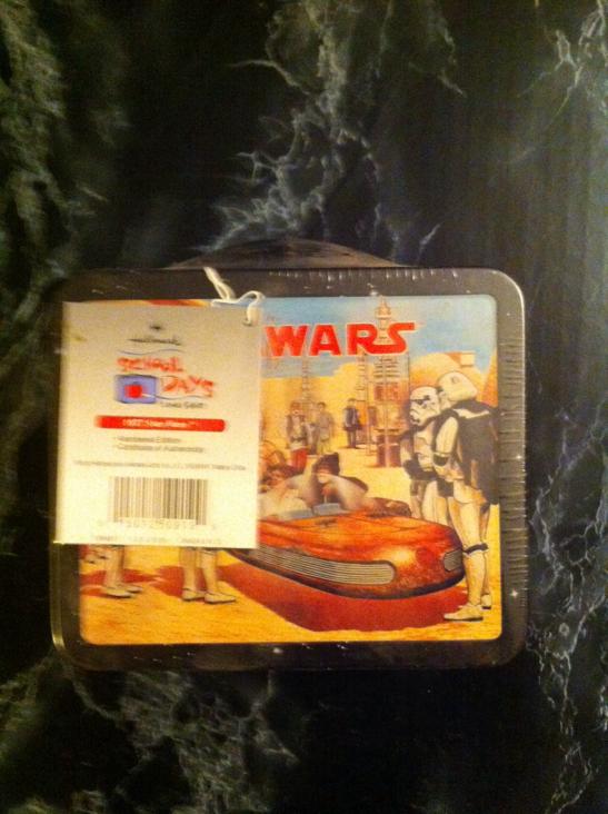 Lunch Box Star Wars Hallmark Star Wars - Hallmark (1999) back image (back cover, second image)
