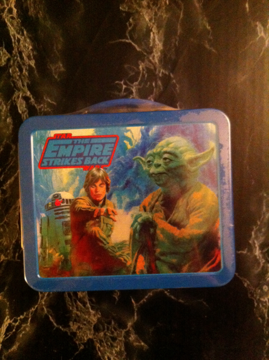 Lunch Box Empire Strikes Back Hallmark Star Wars - Hallmark back image (back cover, second image)
