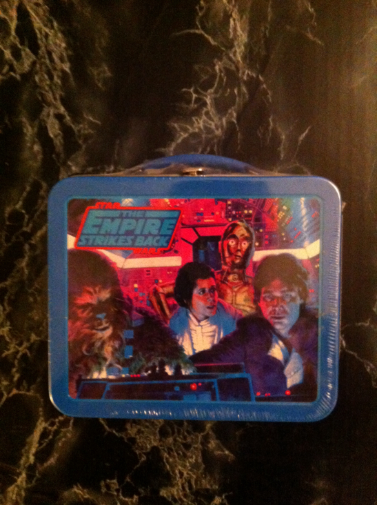 Lunch Box Empire Strikes Back Hallmark Star Wars - Hallmark front image (front cover)