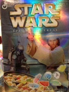 Star Wars: Episode 2 Cereal Edition 1 Star Wars - General Mills (2002) front image (front cover)