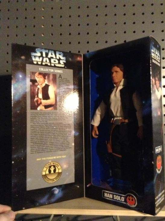 Han Solo Collector Series Star Wars - Kenner (1996) front image (front cover)