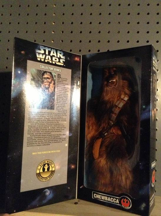 Chewbacca Collector Series Star Wars - Kenner (1996) front image (front cover)